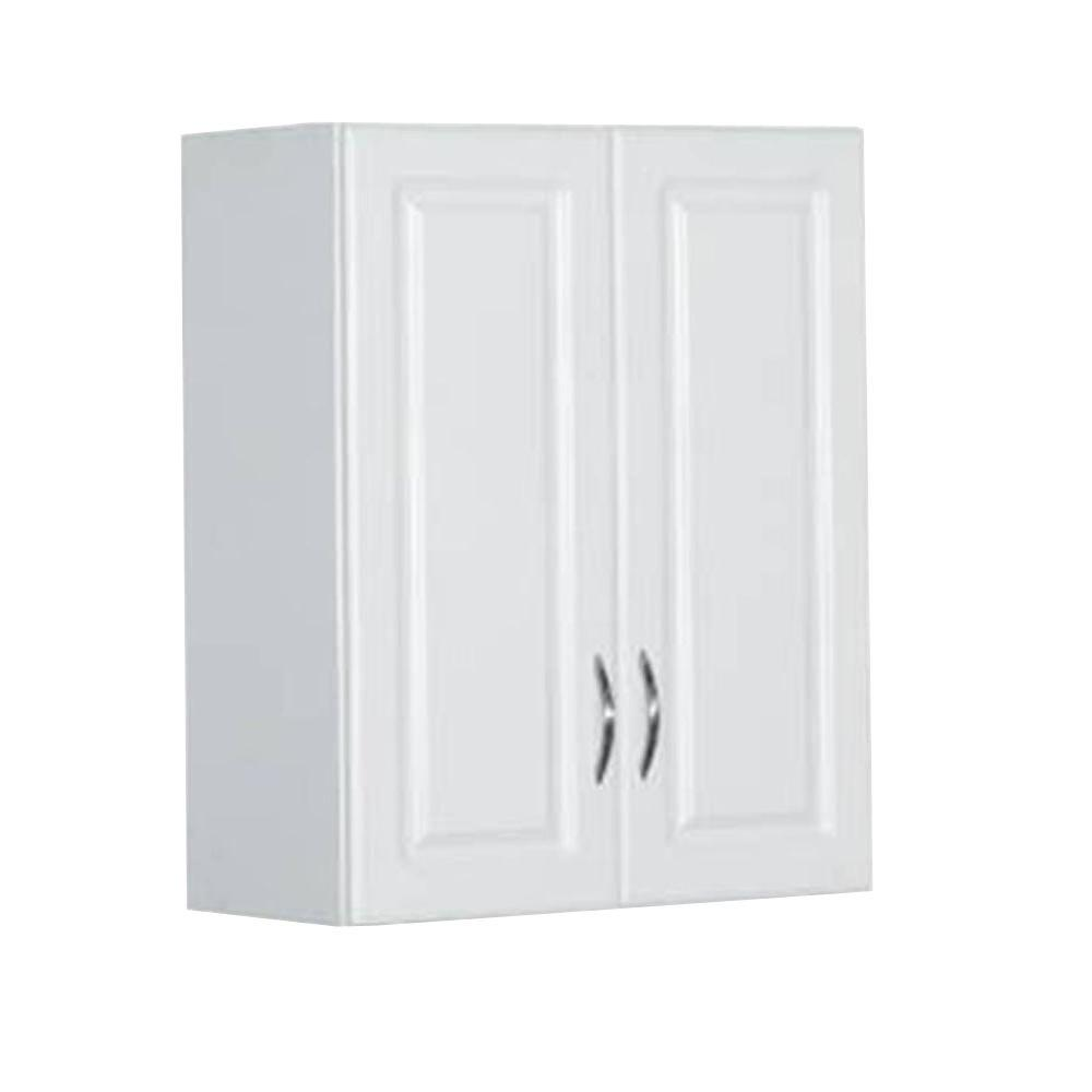 Best 30 in. H x 24 in. W x 12 in. D White wall mounted storage cabinets