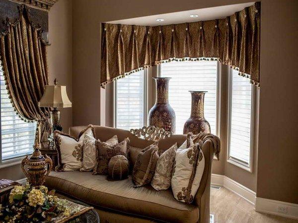 Stunning Elegant living room treatment ideas window valance ideas living room