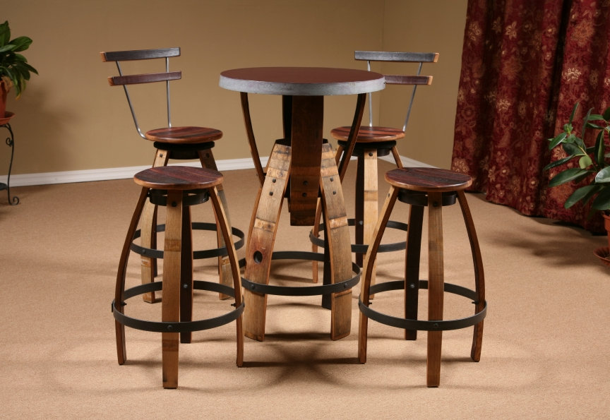 Best Wine Barrel Furniture wine barrel furniture plans