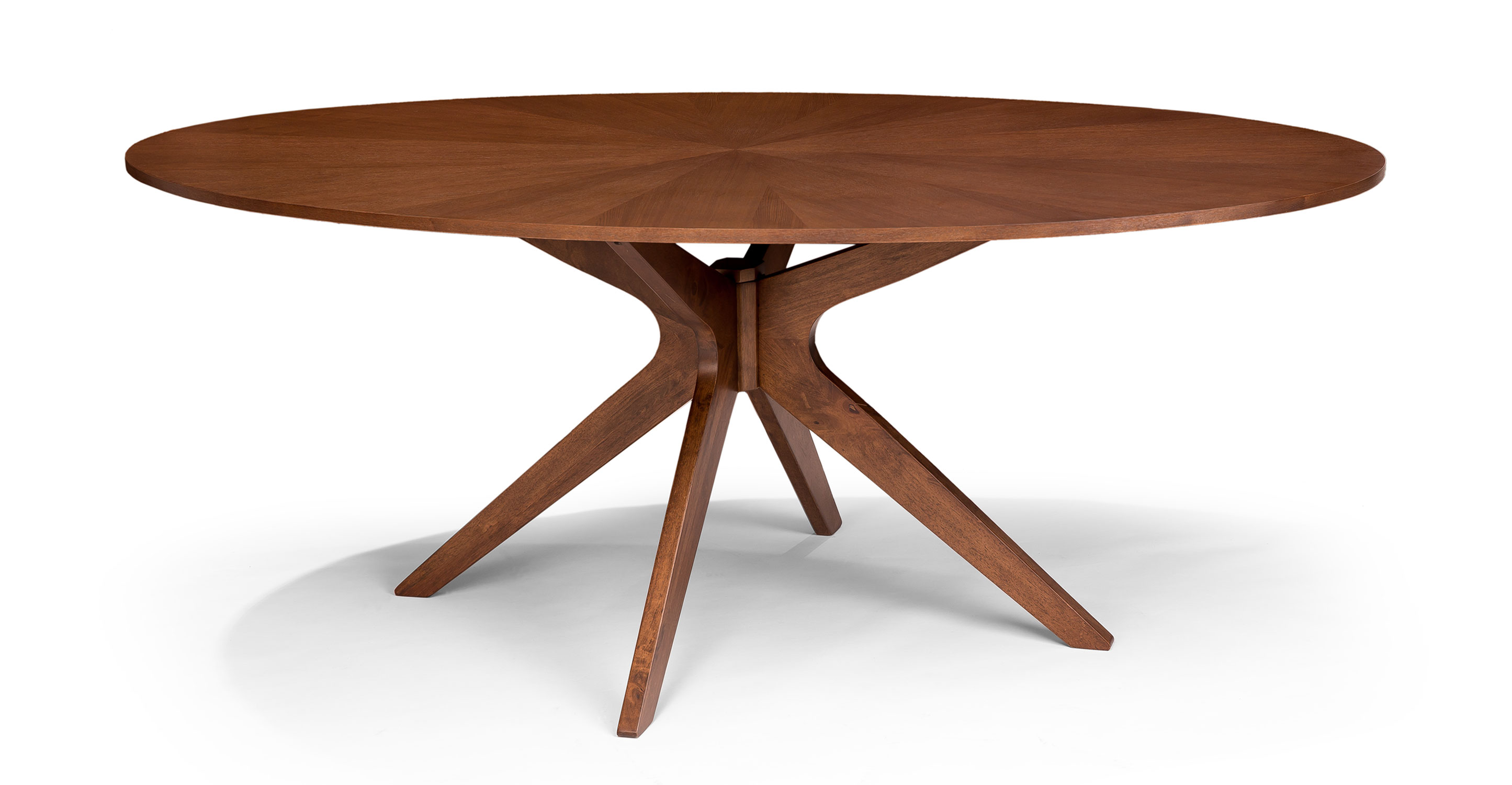 Awesome Conan Oval Dining Table - Dining Tables - Article | Modern, Mid-Century wood oval dining table
