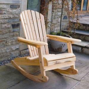 Amazing Wooden Garden Rocking Arm Chair Outdoor Wood Adirondack Rocker Patio  Furniture wooden garden chairs
