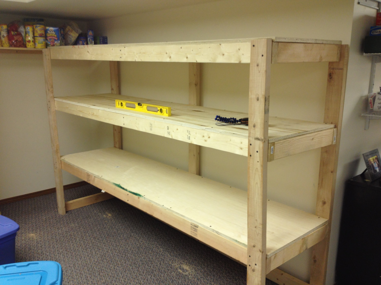 Versatility of wooden shelves