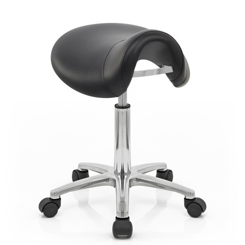 ... deluxe saddle stool black ... TQSLWTH