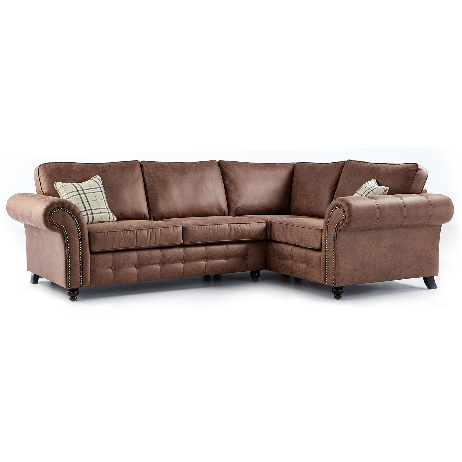 ... leather corner sofa. hover to zoom POMXLMA