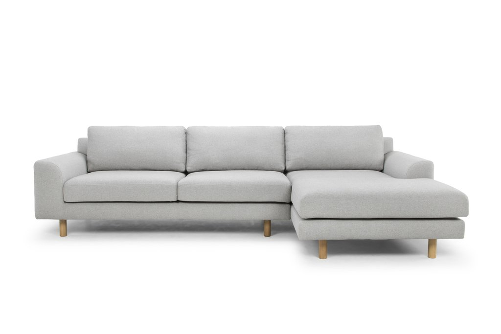 ... masters modular sofa light grey right chaise ... KAQQWYV