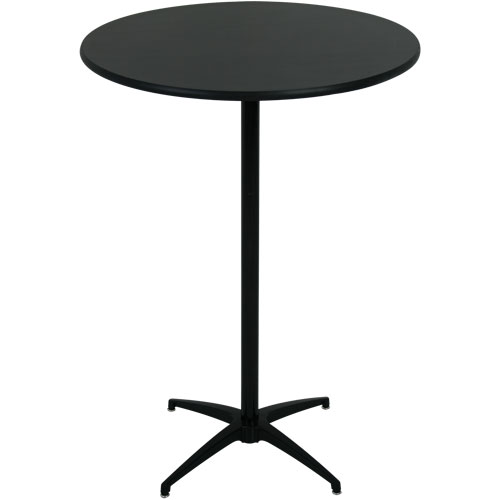 ... round cocktail tables - black VARNDAW