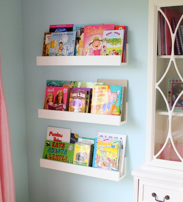 10 cute minimalist bookshelves for kids rooms FMCHAYR