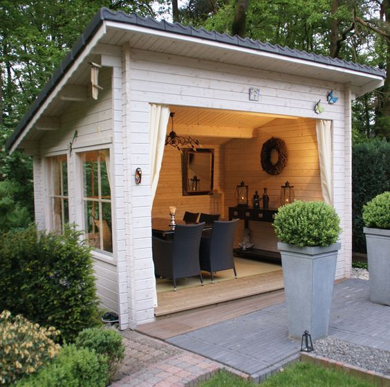 12 backyard sheds you can diy or buy | poppytalk BFXJXVB