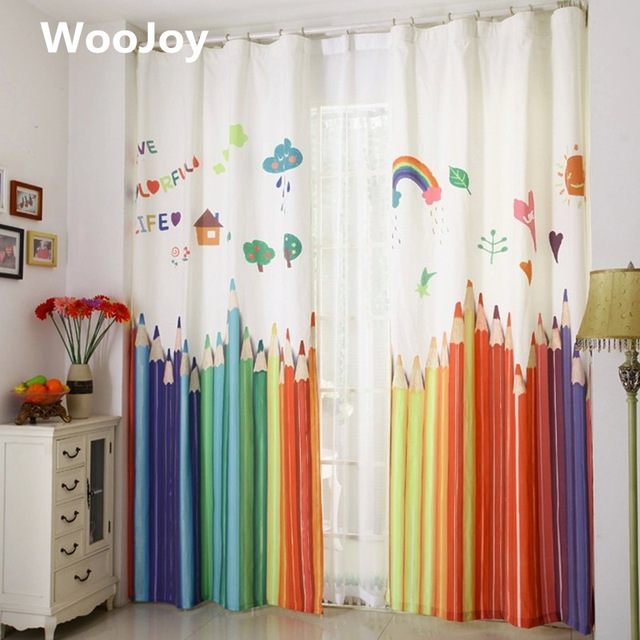 130x250cm kids room curtain window curtains for baby room kids curtains VKFQUHW