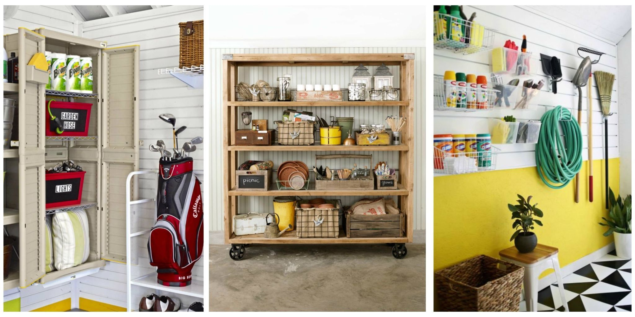 14 genius garage organization ideas POVYKVY