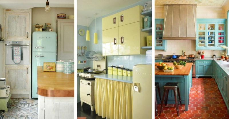 15 wonderful vintage kitchen designs that will inspire you! | decor MNYZHGS