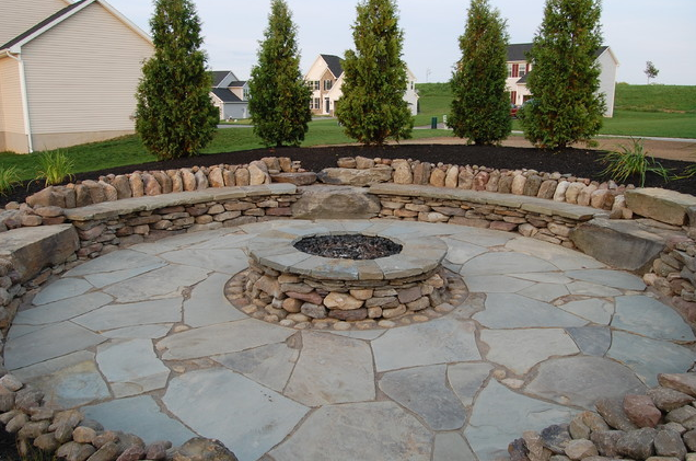 20+ best stone patio ideas for your backyard - home and LKGMHVG