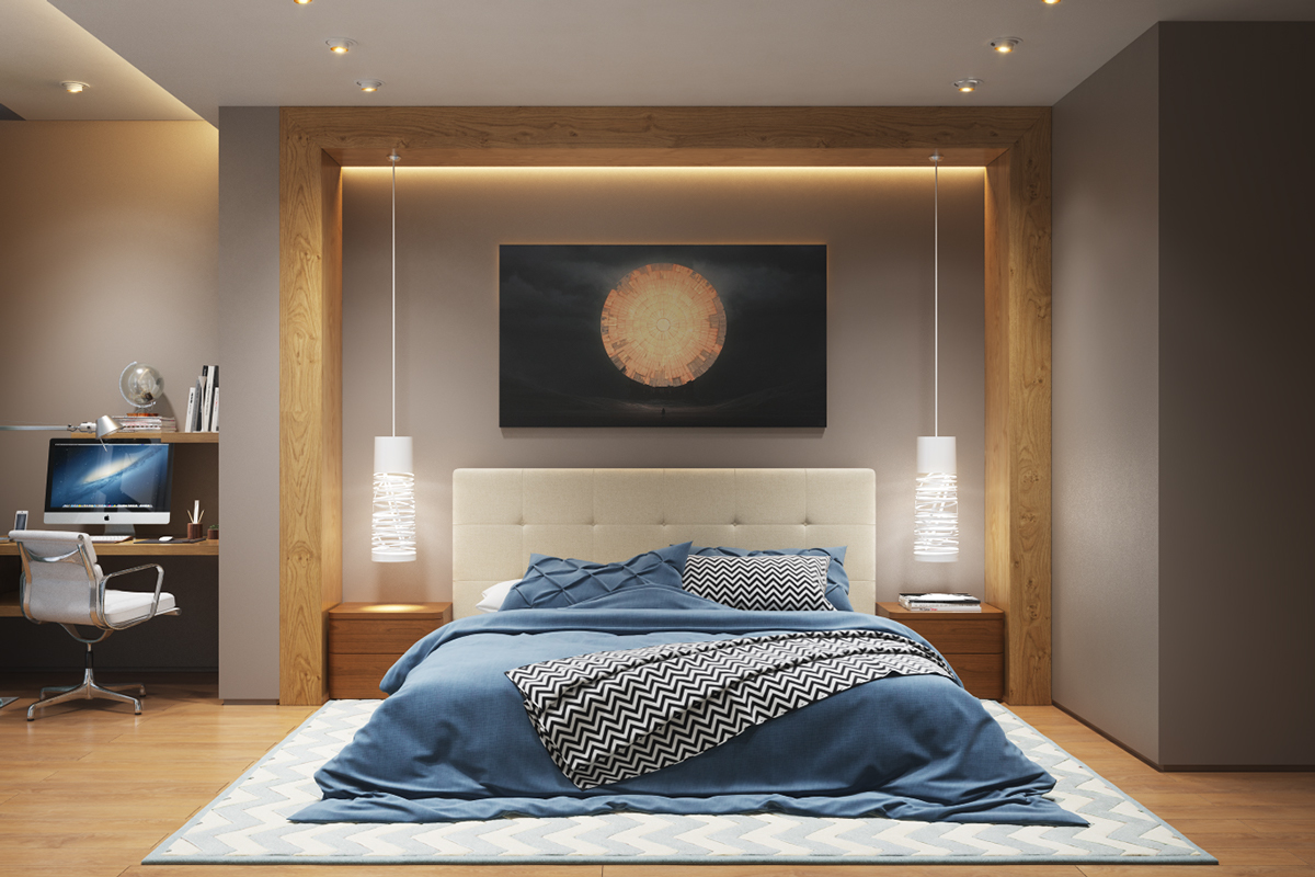 25 stunning bedroom lighting ideas XFRDXQK