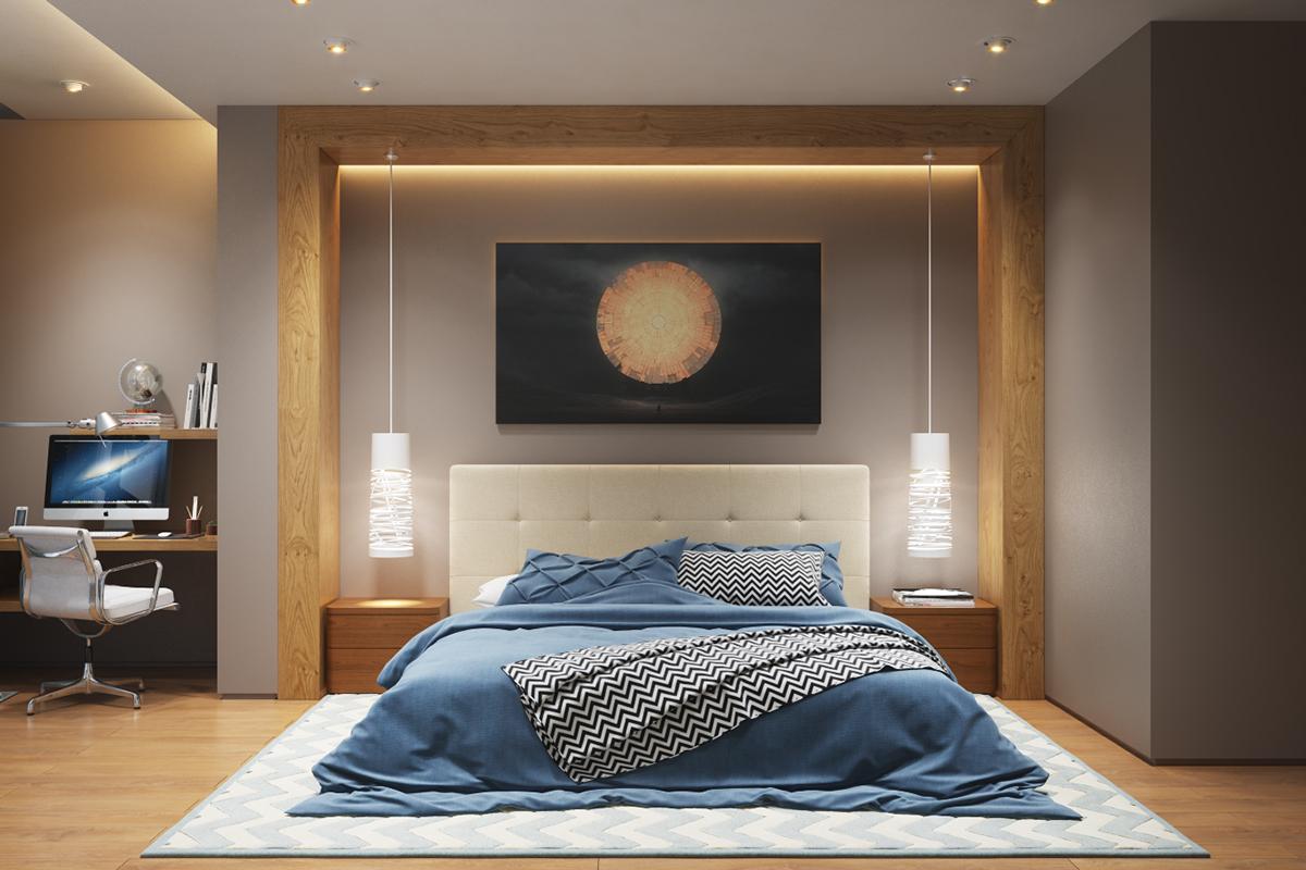 25 stunning bedroom lighting ideas XFRDXQK