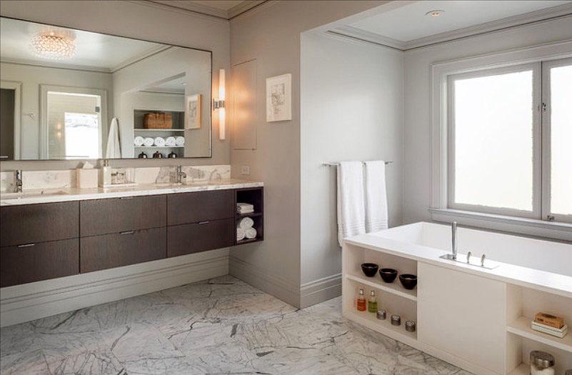 30 quick and easy bathroom decorating ideas - freshome.com MBMSBSL