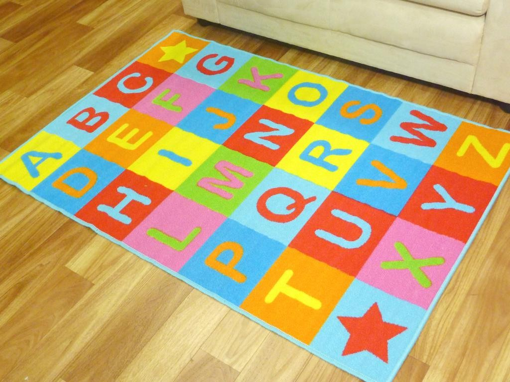 5x7 kids rug color YHZKPOB
