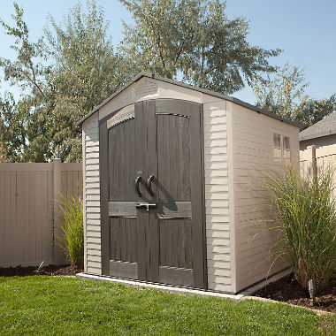 7u0027 x 7u0027 lifetime outdoor storage shed XCHVDKB