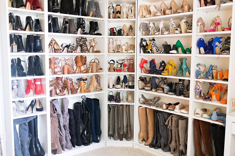 afl shoe closet reveal: my shoe haven! DVYGUBC