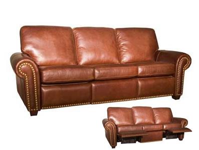 aurora leather recliner sofa VWQQSAT