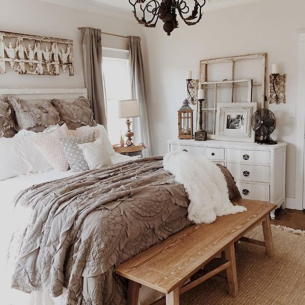 awesome 60 warm and cozy rustic bedroom decorating ideas  https://homedecort.com/2017/05/warm-and-cozy-rustic-bedroom-decorating-ideas XWTZMEE