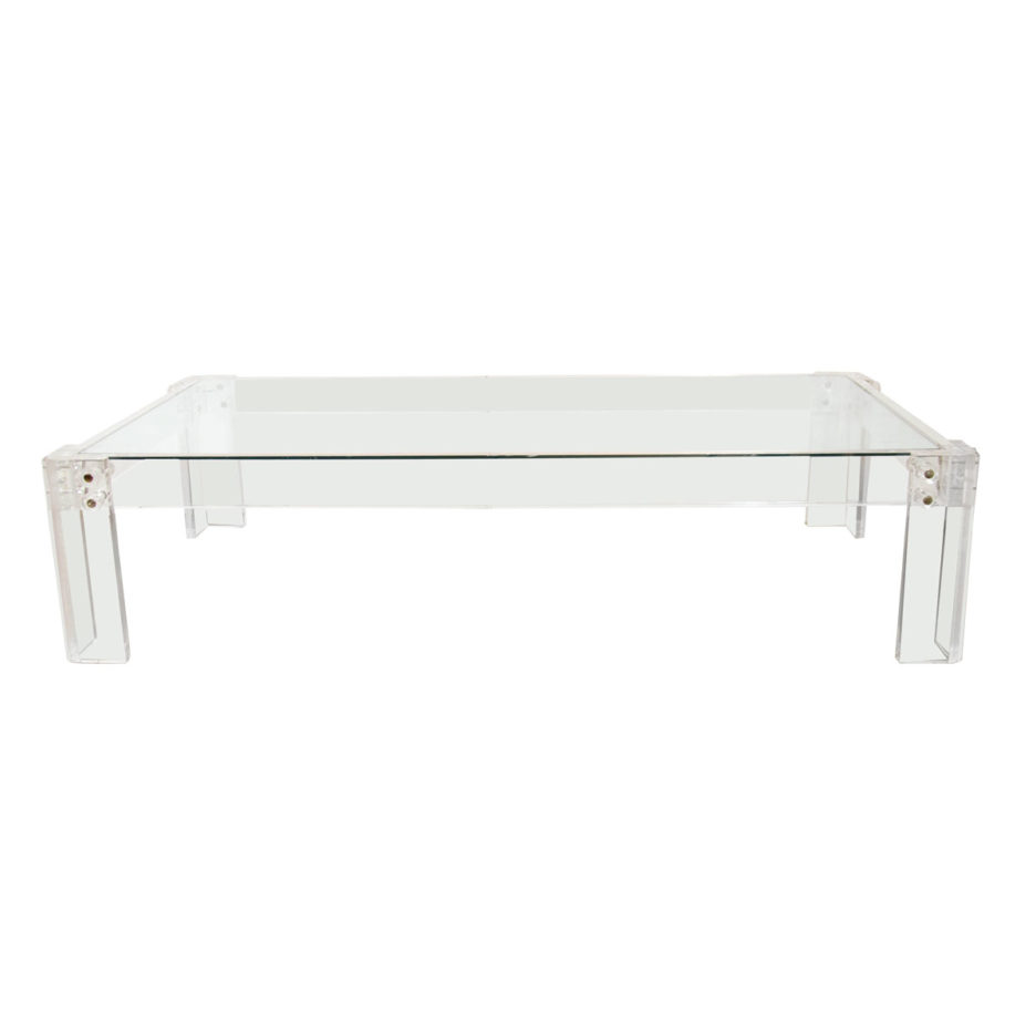 awesome design of lucite coffee table featuring rectangle shape coffee table XKELXLN