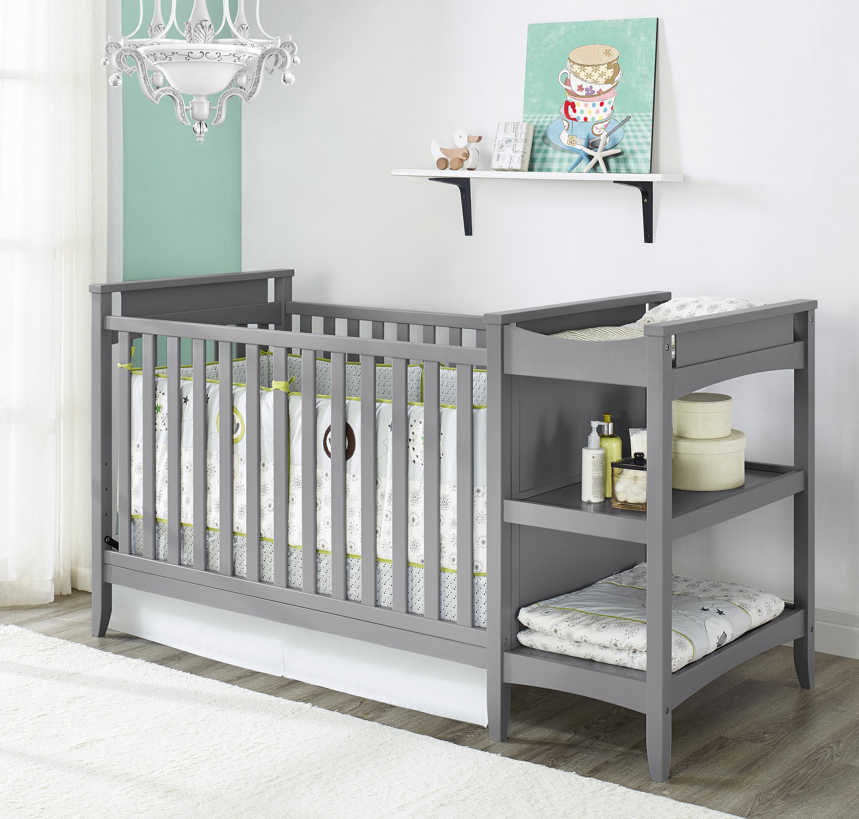 baby cribs dorel home furnishings dorel baby relax emma 2-in-1 convertible TZBVOFJ
