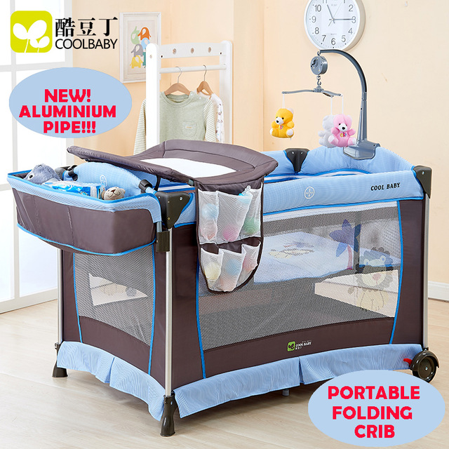 baby cribs multi-functional folding baby bed portable baby crib game bed child bed TTQPLDK