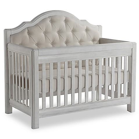 baby cribs pali™ cristallo forever 4-in-1 convertible crib in vintage white - buybuy NBJOGAF