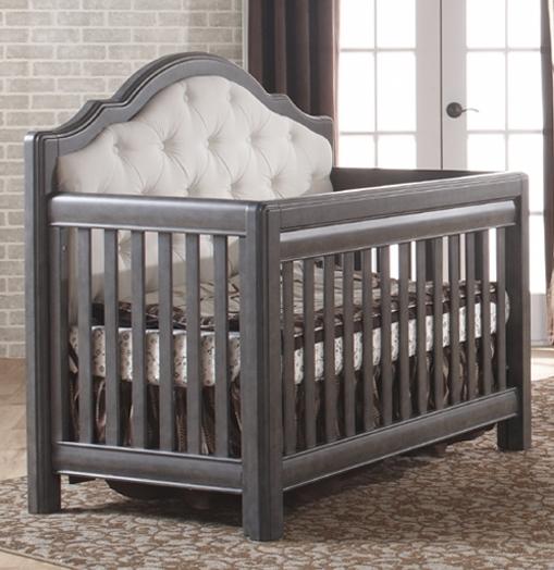baby cribs pali cristallo forever crib with fabric upholstery GKJKUOZ