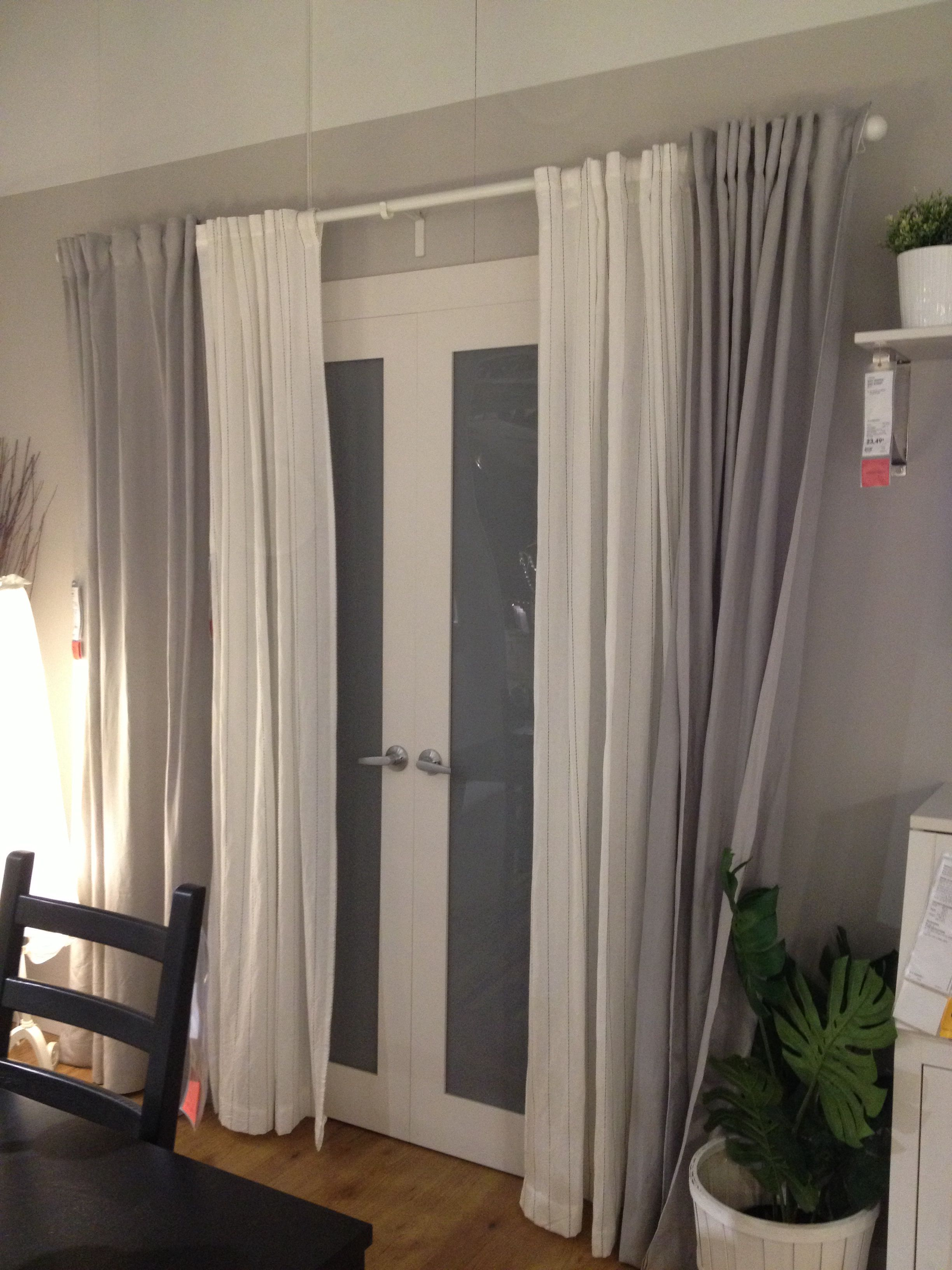 back/patio door curtains -let sunlight in during the day -keep people CAJQIBN