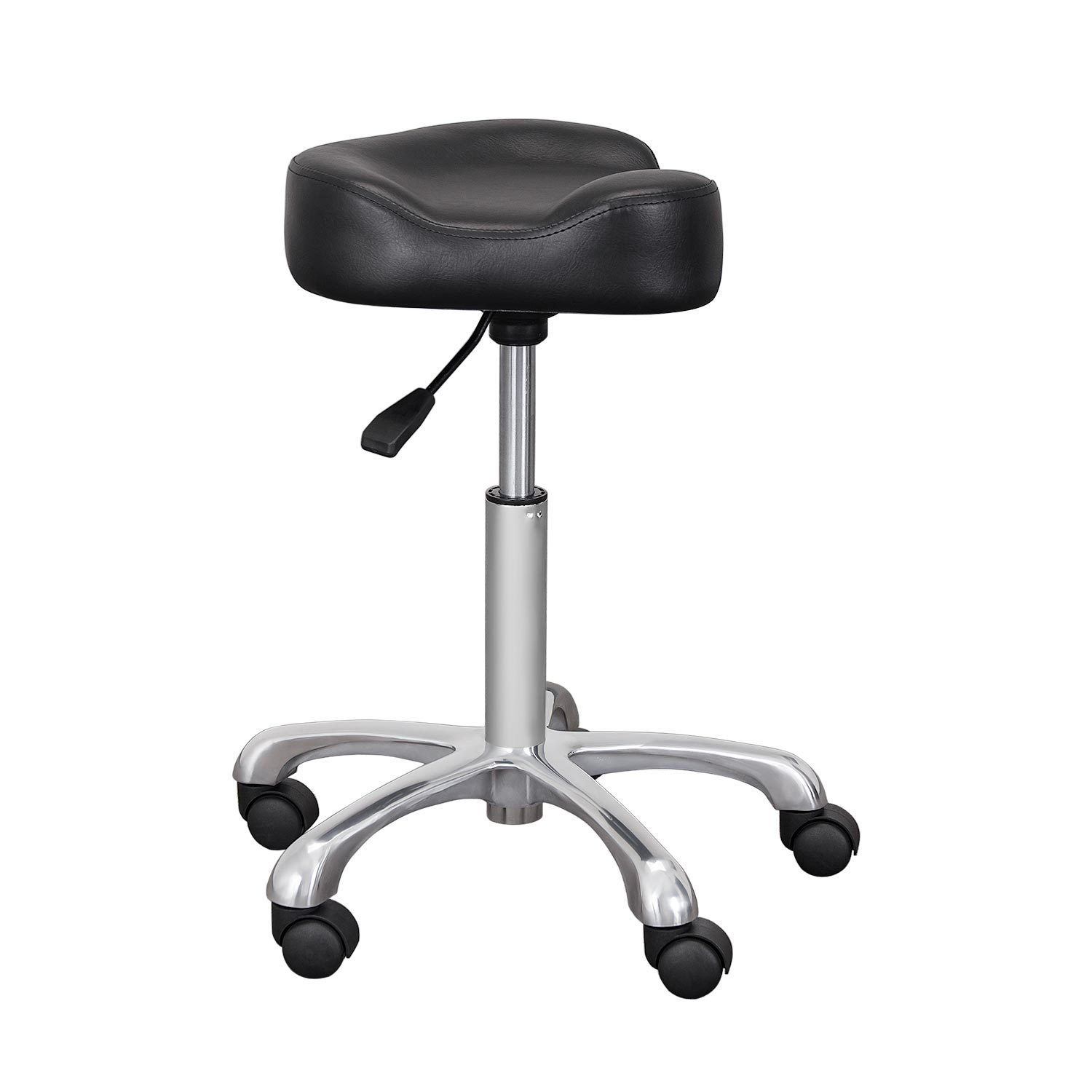 backless adjustable salon saddle stool product image ... XGLOUFL