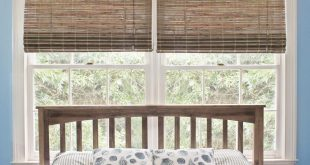bamboo shades home decorators collection 50 in. w x 48 in. l driftwood GLLXYPF