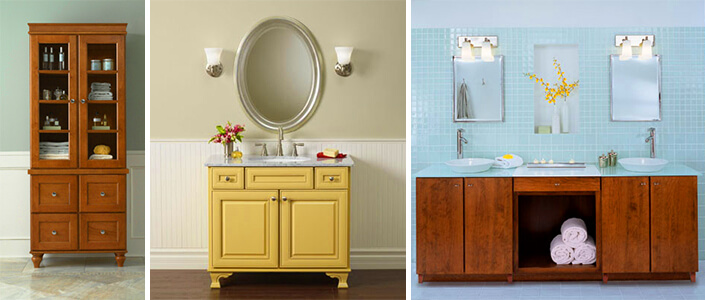 bath cabinets custom painted cabinets and bath vanities from mid continent cabinetry WHWOWUO