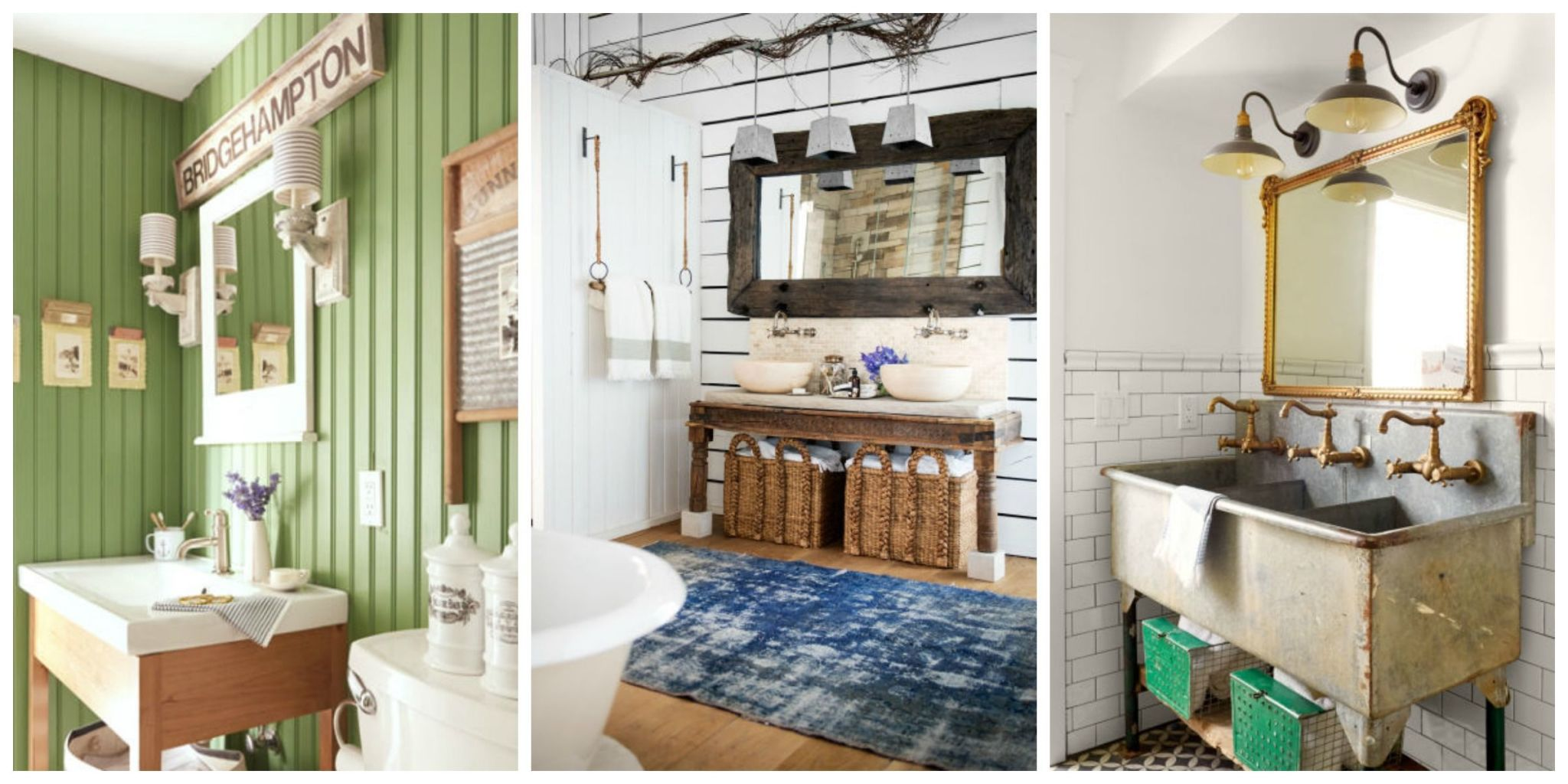 bathroom decorating ideas from vintage fixtures to bold wallpaper patterns, these beautiful bathroom HFHLZLE