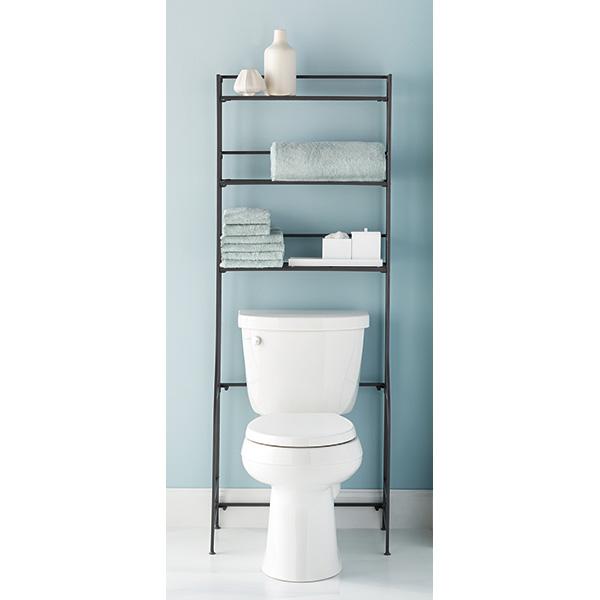 bathroom etageres u0026 space savers BMAGFXJ