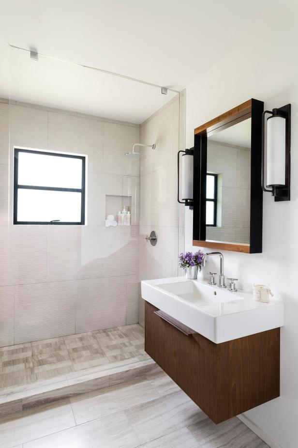 bathroom renovation before-and-after bathroom remodels on a budget | hgtv QIUACTT