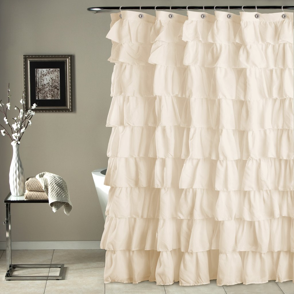 bathroom shower curtains ruffle shower curtain FAFESXR