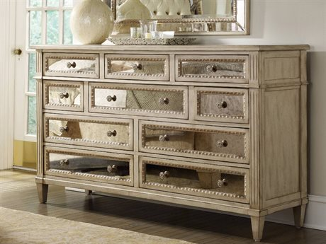 bedroom dressers hooker furniture sanctuary pearl essence triple dresser PXVHMHS