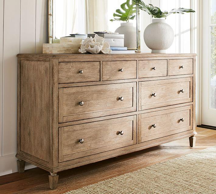 bedroom dressers sausalito extra wide dresser | pottery barn OKHRFMT