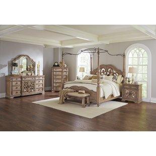 bedroom sets george canopy configurable bedroom set MCYXJCC