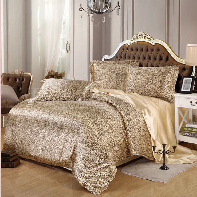bedrooms accurately sexy bedroom sets buy sexy leopard satin bedding set pcs sol PXFQOIA