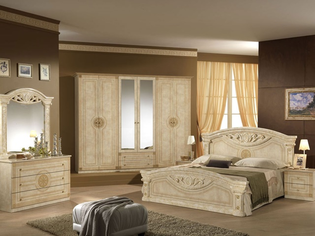 bedrooms ideas 2019 if you prefer cream color in lacquered furniture with straight lines, DBFGYIV