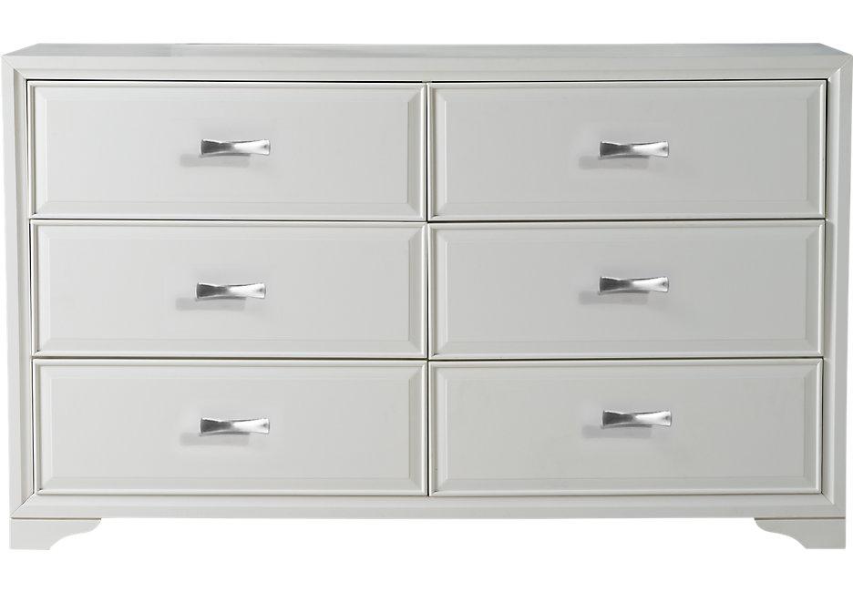 belcourt white dresser - dressers colors QBOPMNI