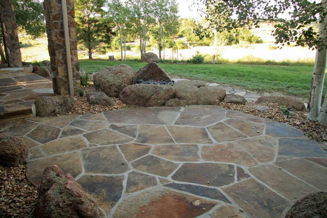 best stone patio ideas for your backyard letu0027s face it, a KUAJVDQ