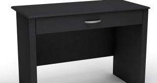 black desk amazon.com: south shore work id collection laptop desk, pure black: kitchen ZMLTTDJ