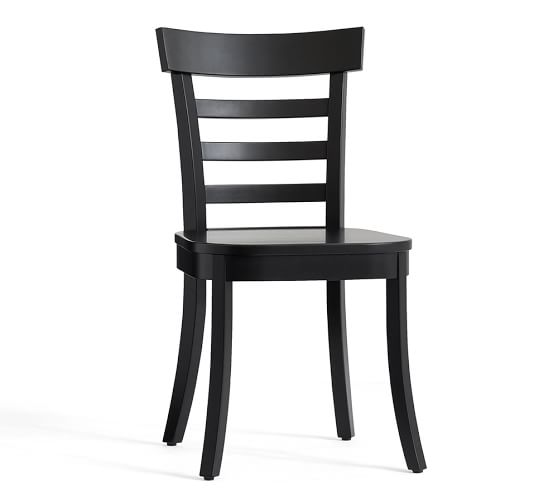 black dining chairs liam dining chair | pottery barn MLQOBIT