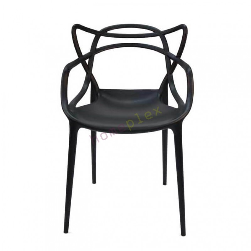 black dining chairs set of 4 - replica philippe starck masters black dining chair NEMNQES