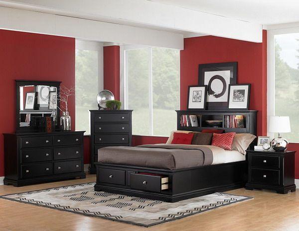 black furniture black bedroom furniture set modern design with black bedroom furniture YUPIJOU