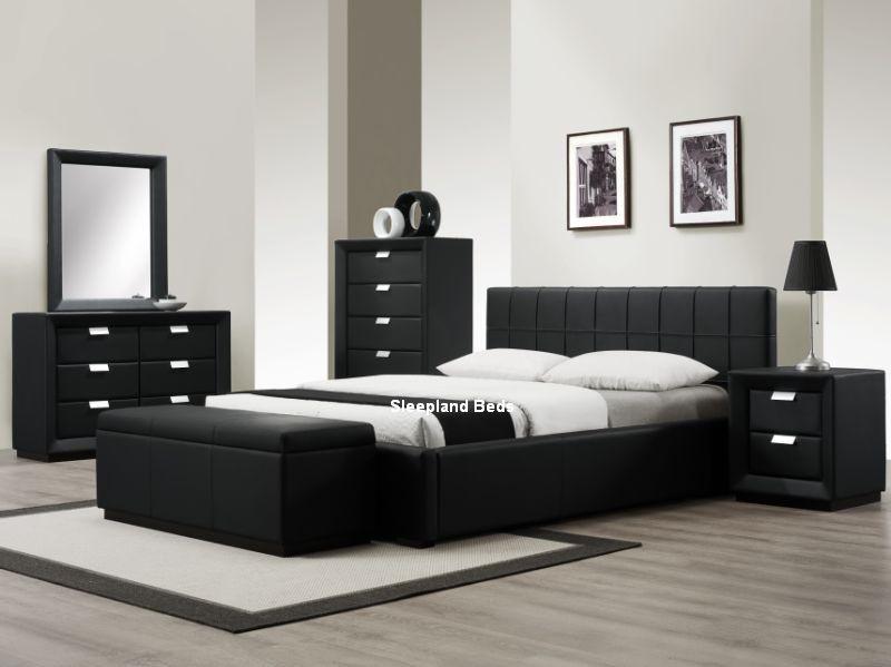 black furniture modern black bedroom furniture ... URGMTPS