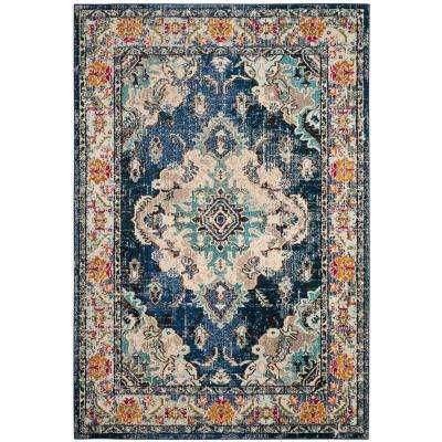 blue area rugs monaco ... ARSRRXL